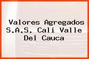 Valores Agregados S.A.S. Cali Valle Del Cauca