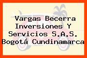 Vargas Becerra Inversiones Y Servicios S.A.S. Bogotá Cundinamarca
