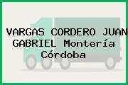 VARGAS CORDERO JUAN GABRIEL Montería Córdoba