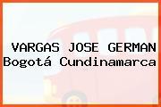 VARGAS JOSE GERMAN Bogotá Cundinamarca
