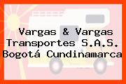 Vargas & Vargas Transportes S.A.S. Bogotá Cundinamarca