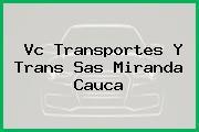 Vc Transportes Y Trans Sas Miranda Cauca