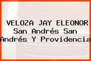 VELOZA JAY ELEONOR San Andrés San Andrés Y Providencia
