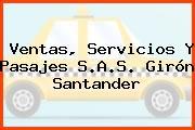 Ventas, Servicios Y Pasajes S.A.S. Girón Santander