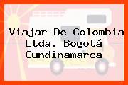 Viajar De Colombia Ltda. Bogotá Cundinamarca