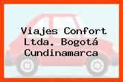 Viajes Confort Ltda. Bogotá Cundinamarca