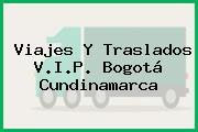Viajes Y Traslados V.I.P. Bogotá Cundinamarca