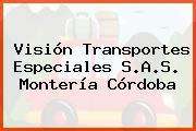 Visión Transportes Especiales S.A.S. Montería Córdoba