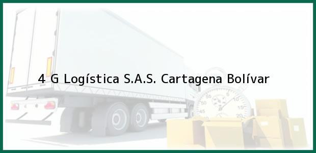 Teléfono, Dirección y otros datos de contacto para 4 G Logística S.A.S., Cartagena, Bolívar, Colombia