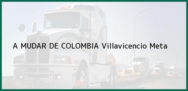 Teléfono, Dirección y otros datos de contacto para A MUDAR DE COLOMBIA, Villavicencio, Meta, Colombia