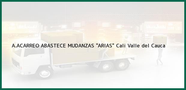 Teléfono, Dirección y otros datos de contacto para A.ACARREO ABASTECE MUDANZAS