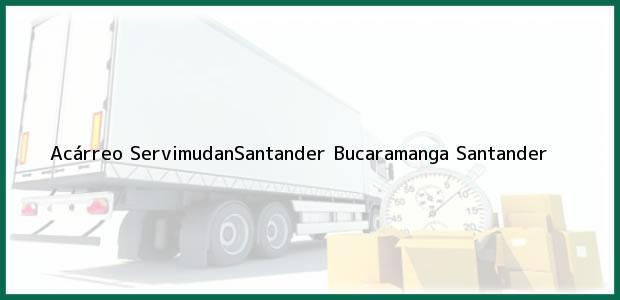 Teléfono, Dirección y otros datos de contacto para Acárreo ServimudanSantander, Bucaramanga, Santander, Colombia