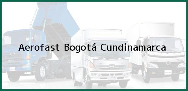 Teléfono, Dirección y otros datos de contacto para Aerofast, Bogotá, Cundinamarca, Colombia