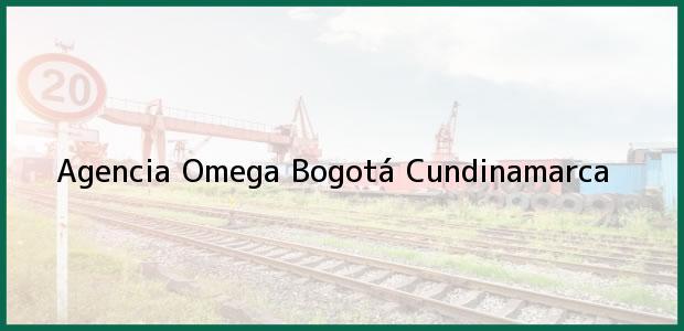 Teléfono, Dirección y otros datos de contacto para Agencia Omega, Bogotá, Cundinamarca, Colombia