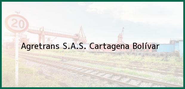 Teléfono, Dirección y otros datos de contacto para Agretrans S.A.S., Cartagena, Bolívar, Colombia