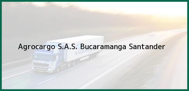 Teléfono, Dirección y otros datos de contacto para Agrocargo S.A.S., Bucaramanga, Santander, Colombia
