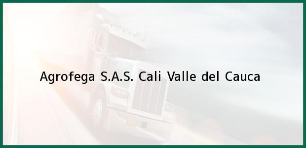 Teléfono, Dirección y otros datos de contacto para Agrofega S.A.S., Cali, Valle del Cauca, Colombia