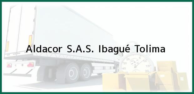 Teléfono, Dirección y otros datos de contacto para Aldacor S.A.S., Ibagué, Tolima, Colombia
