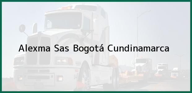 Teléfono, Dirección y otros datos de contacto para Alexma Sas, Bogotá, Cundinamarca, Colombia