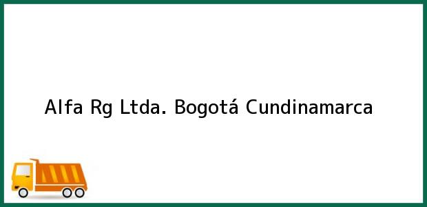 Teléfono, Dirección y otros datos de contacto para Alfa Rg Ltda., Bogotá, Cundinamarca, Colombia