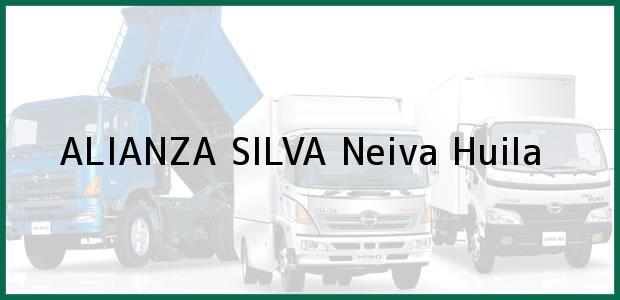 Teléfono, Dirección y otros datos de contacto para ALIANZA SILVA, Neiva, Huila, Colombia