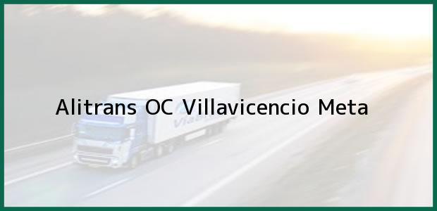 Teléfono, Dirección y otros datos de contacto para Alitrans OC, Villavicencio, Meta, Colombia