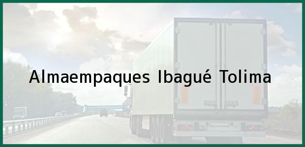 Teléfono, Dirección y otros datos de contacto para Almaempaques, Ibagué, Tolima, Colombia