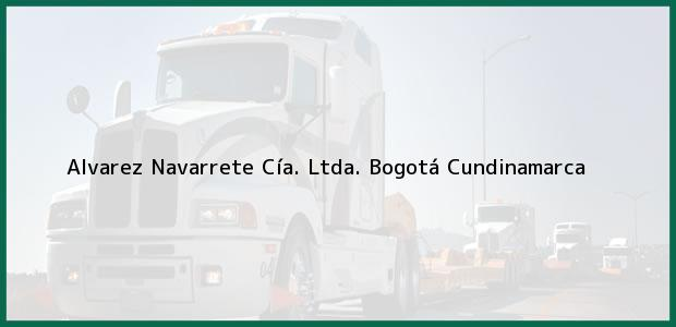 Teléfono, Dirección y otros datos de contacto para Alvarez Navarrete Cía. Ltda., Bogotá, Cundinamarca, Colombia