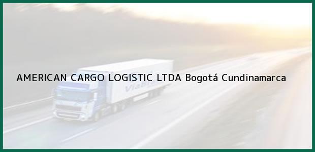 Teléfono, Dirección y otros datos de contacto para AMERICAN CARGO LOGISTIC LTDA, Bogotá, Cundinamarca, Colombia