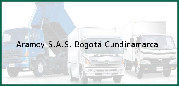 Teléfono, Dirección y otros datos de contacto para Aramoy S.A.S., Bogotá, Cundinamarca, Colombia