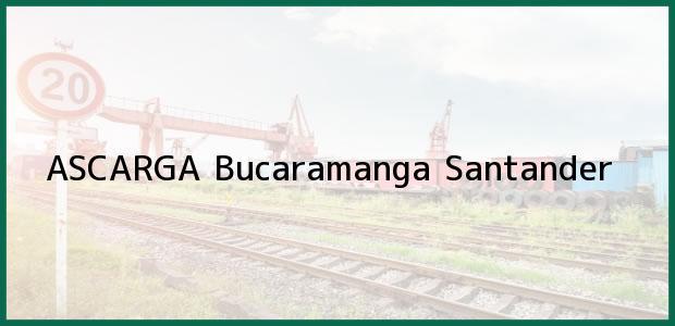 Teléfono, Dirección y otros datos de contacto para ASCARGA, Bucaramanga, Santander, Colombia
