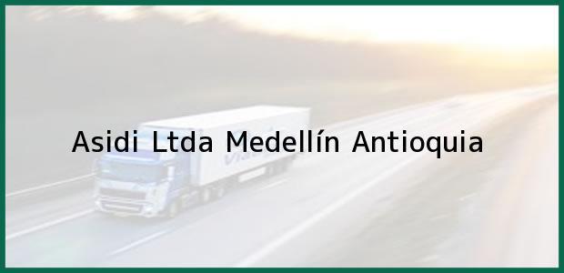 Teléfono, Dirección y otros datos de contacto para Asidi Ltda, Medellín, Antioquia, Colombia
