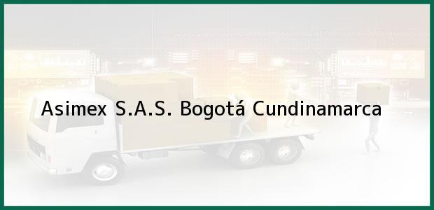 Teléfono, Dirección y otros datos de contacto para Asimex S.A.S., Bogotá, Cundinamarca, Colombia