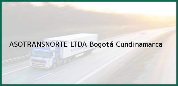 Teléfono, Dirección y otros datos de contacto para Asotransnorte Ltda, Bogotá, Cundinamarca, Colombia