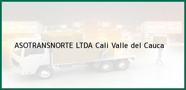 Teléfono, Dirección y otros datos de contacto para ASOTRANSNORTE LTDA, Cali, Valle del Cauca, Colombia