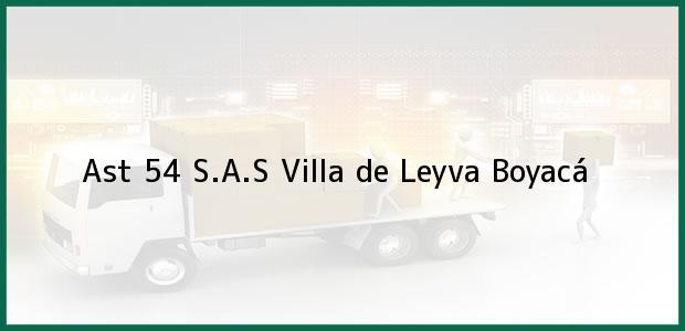 Teléfono, Dirección y otros datos de contacto para Ast 54 S.A.S, Villa de Leyva, Boyacá, Colombia