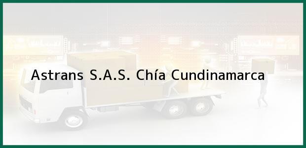Teléfono, Dirección y otros datos de contacto para Astrans S.A.S., Chía, Cundinamarca, Colombia