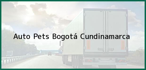 Teléfono, Dirección y otros datos de contacto para Auto Pets, Bogotá, Cundinamarca, Colombia