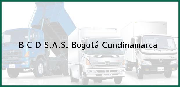 Teléfono, Dirección y otros datos de contacto para B C D S.A.S., Bogotá, Cundinamarca, Colombia