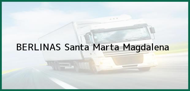 Teléfono, Dirección y otros datos de contacto para BERLINAS, Santa Marta, Magdalena, Colombia