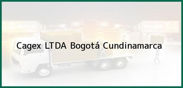 Teléfono, Dirección y otros datos de contacto para Cagex LTDA, Bogotá, Cundinamarca, Colombia