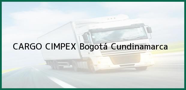 Teléfono, Dirección y otros datos de contacto para CARGO CIMPEX, Bogotá, Cundinamarca, Colombia