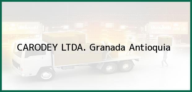 Teléfono, Dirección y otros datos de contacto para CARODEY LTDA., Granada, Antioquia, Colombia