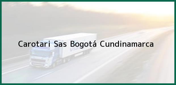 Teléfono, Dirección y otros datos de contacto para Carotari Sas, Bogotá, Cundinamarca, Colombia