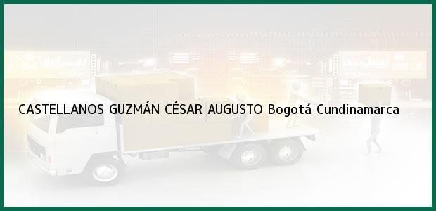 Teléfono, Dirección y otros datos de contacto para CASTELLANOS GUZMÁN CÉSAR AUGUSTO, Bogotá, Cundinamarca, Colombia