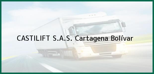 Teléfono, Dirección y otros datos de contacto para CASTILIFT S.A.S., Cartagena, Bolívar, Colombia