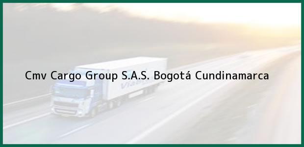 Teléfono, Dirección y otros datos de contacto para Cmv Cargo Group S.A.S., Bogotá, Cundinamarca, Colombia