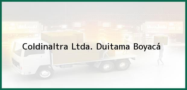 Teléfono, Dirección y otros datos de contacto para Coldinaltra Ltda., Duitama, Boyacá, Colombia