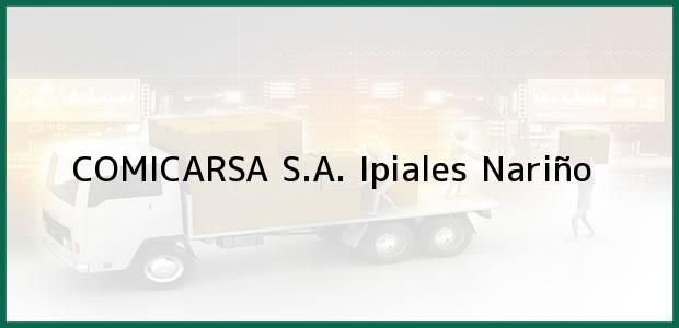 Teléfono, Dirección y otros datos de contacto para COMICARSA S.A., Ipiales, Nariño, Colombia