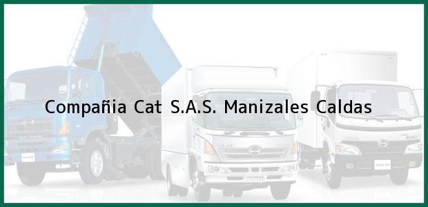 Teléfono, Dirección y otros datos de contacto para Compañia Cat S.A.S., Manizales, Caldas, Colombia
